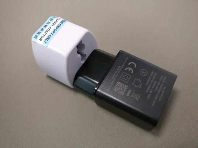DOOGEE MIX Banggood 化粧箱 付属品 USBアダプタ