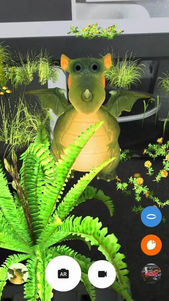 LENOVO Phab 2 Plus AR 恐竜