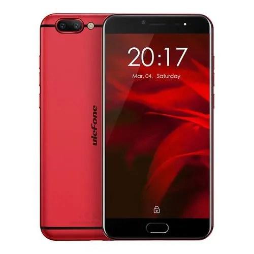 geekbuying Ulefone Gemini Pro MTK6797X Helio X27 2.6GHz 10コア RED(レッド)