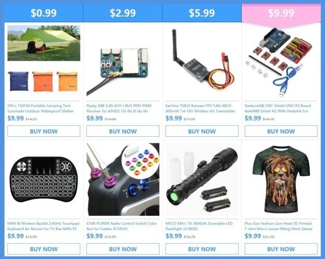 あなたが欲しいものは全てここにあります。 10ドル以内の商品