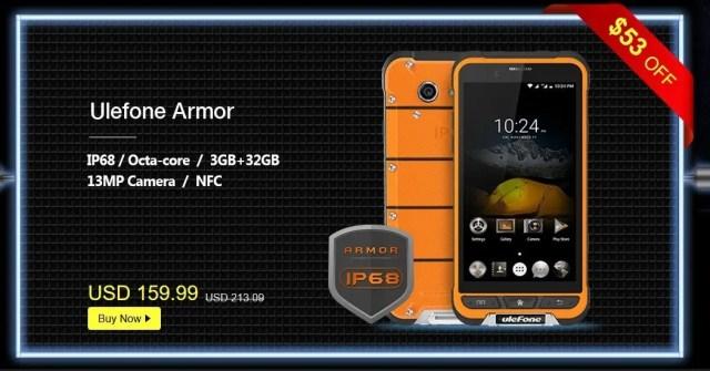 GeekBuying Ulefone ブランドセール Ulefone Armor