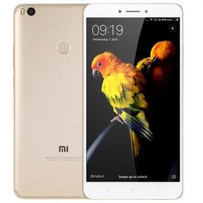 gearbest Xiaomi Mi Max 2 Snapdragon 625 MSM8953 2.0GHz 8コア GOLDEN(ゴールデン)
