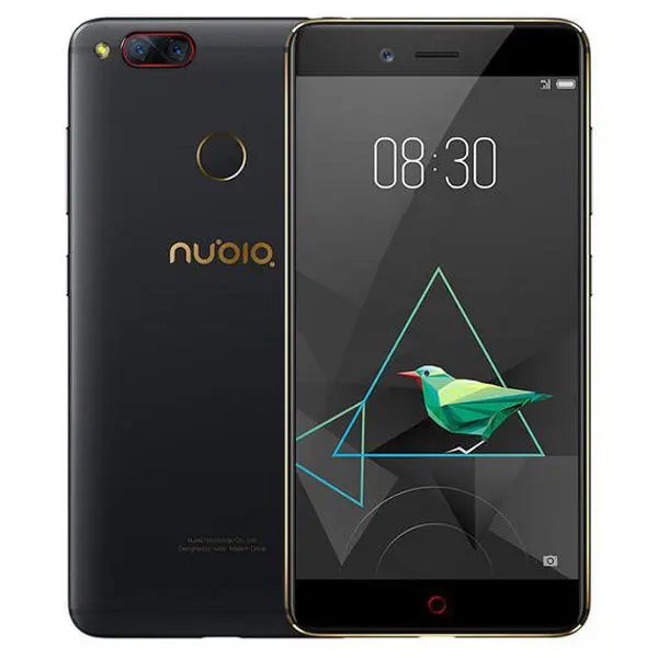 banggood Nubia Z17 Mini Snapdragon 652 MSM8976 1.8GHz 8コア BLACK(ブラック)