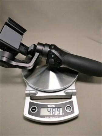 DJI OSMO Mobile 重量489