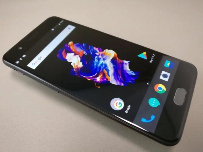 OnePlus5 表面