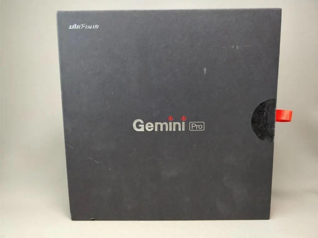 Ulefone Gemini Pro 化粧箱 表