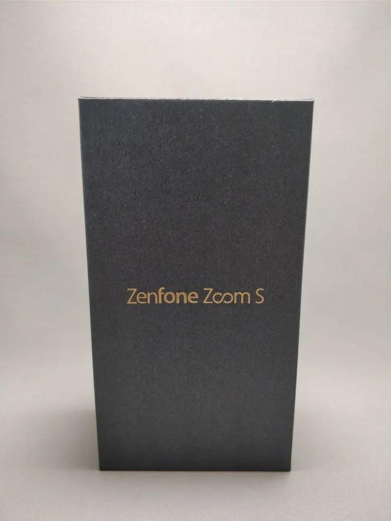 ASUS Fenfone Zoom S 化粧箱 表