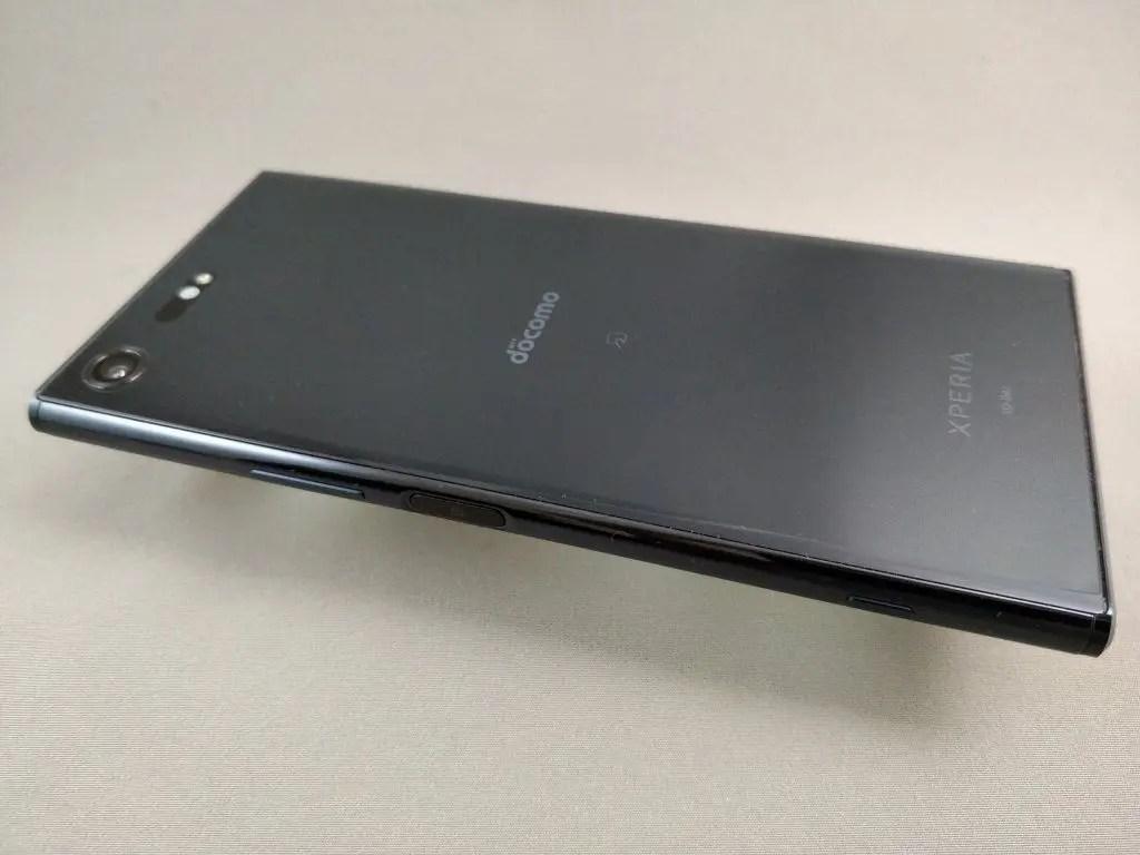 Xperia XZ Premium 裏 ななめ3