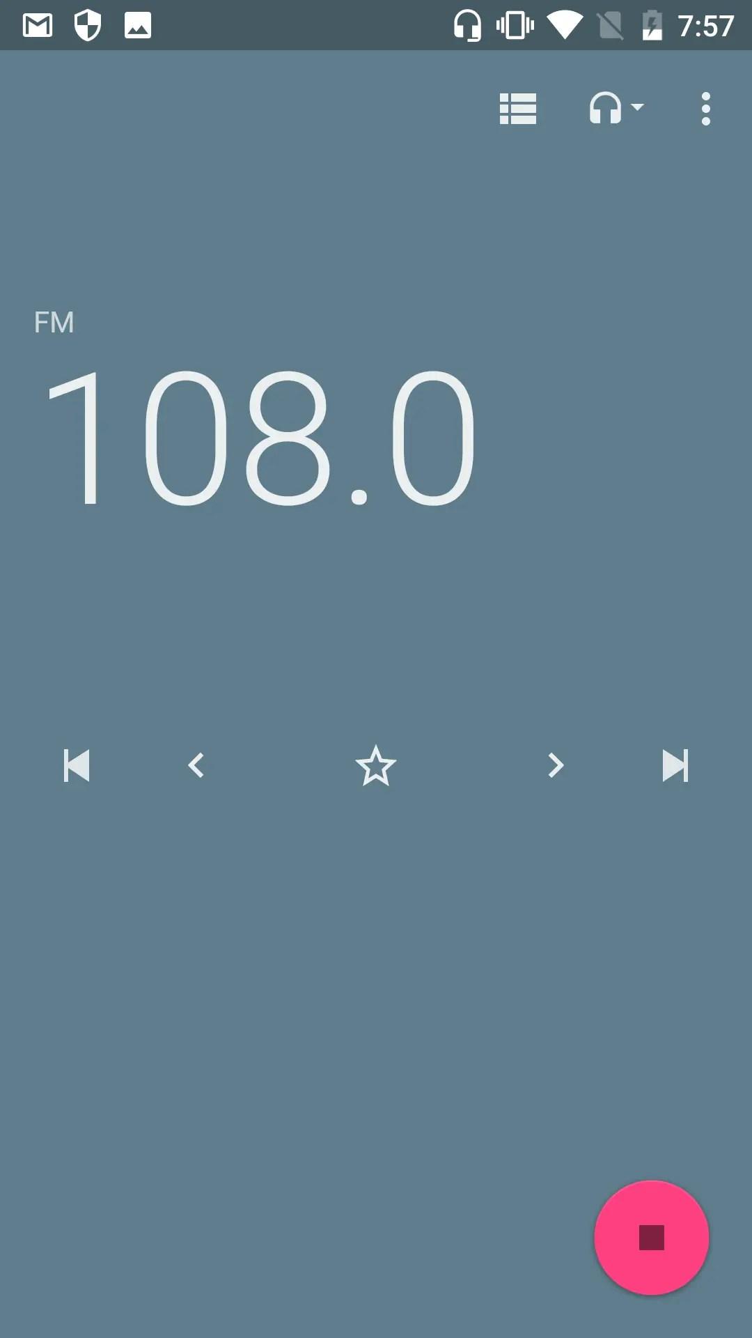 OUKITEL K10000 Pro ラジオ ~108.0まで
