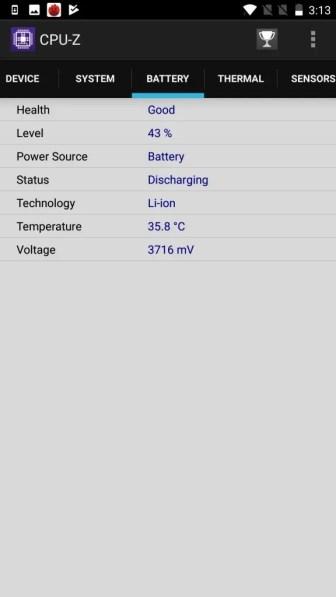 OnePlus5 CPU-Z5