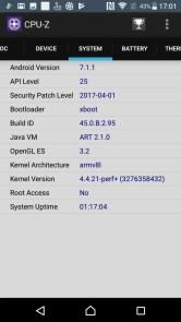 Xperia XZ Premium CPU-Z 4