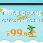 【Geekbuying】T-BAO ブランド 激安ラップトップ セール