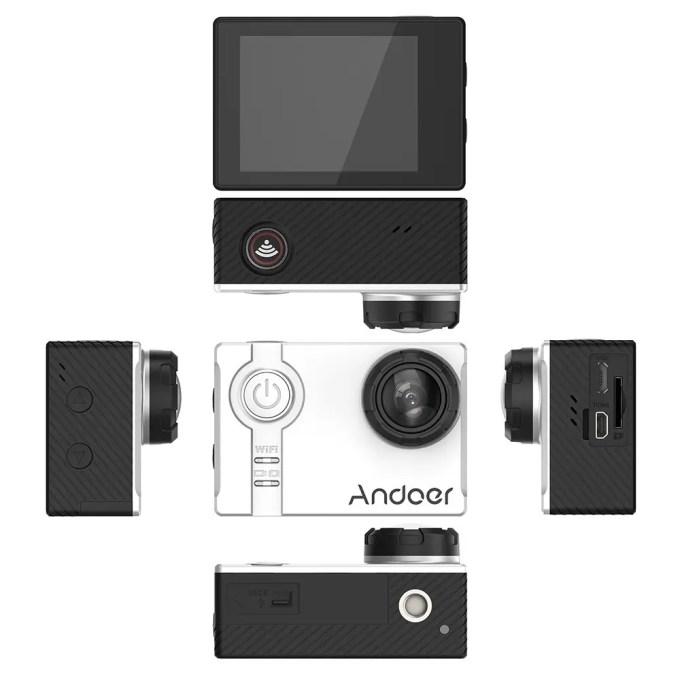 Andoer AN7000 アクションカメラ  広げる