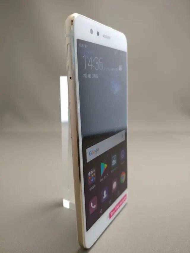 Huawei P10 Lite UQ mobile 貸出機 表10