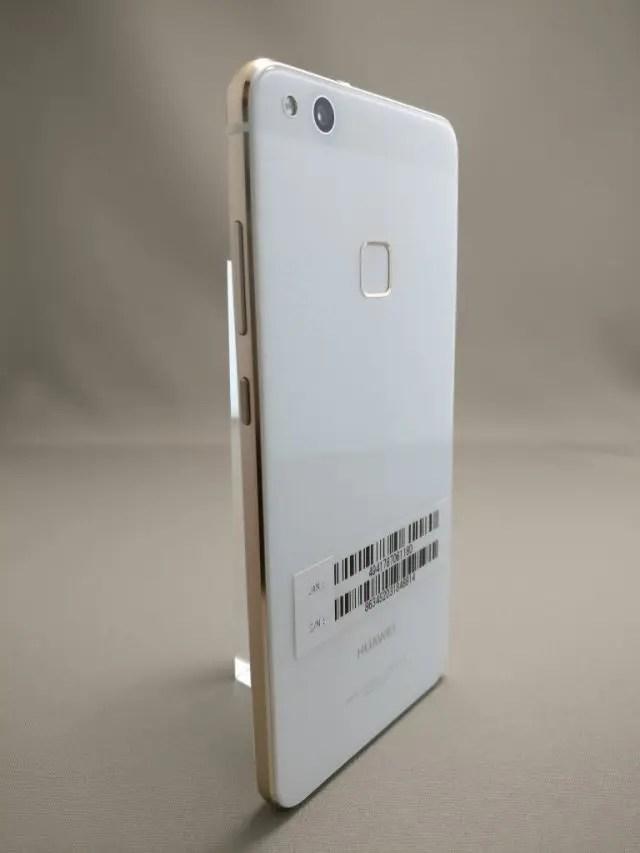 Huawei P10 Lite UQ mobile 貸出機 裏10