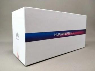 Huawei P10 Lite 表 斜め