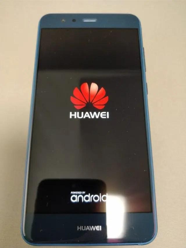 Huawei P10 Lite 起動1