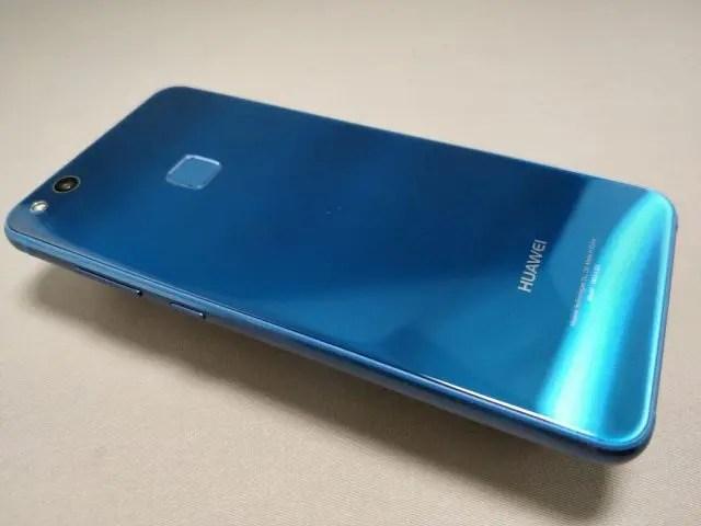 Huawei P10 Lite 裏 斜め 2