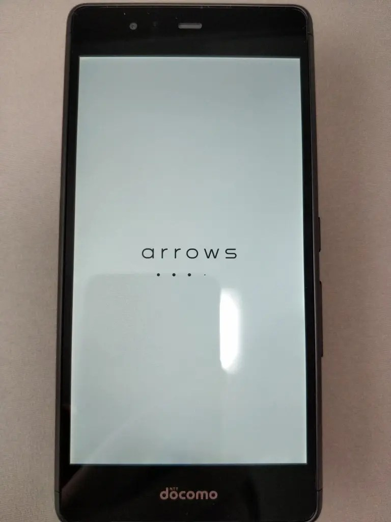 arrows Be F-05J 起動 3