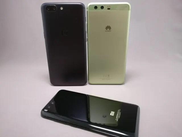 Huawei P10 Plus 他機種とサイズ比較 7