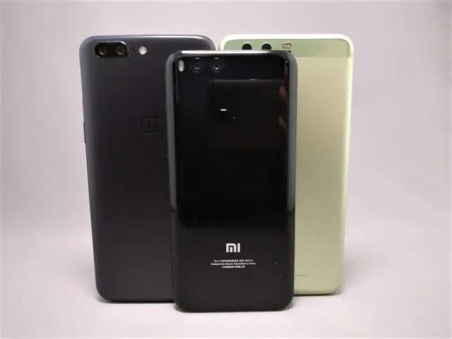 Huawei P10 Plus 他機種とサイズ比較 6