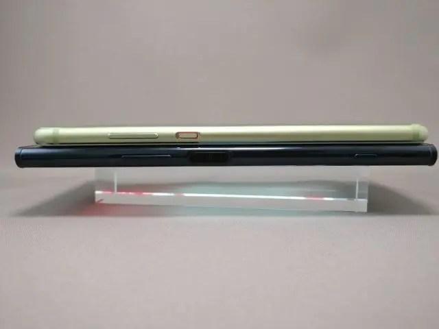 Huawei P10 Plus 他機種とサイズ比較 3