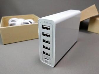 dodocool 60W 6ポート USB急速充電器 右2