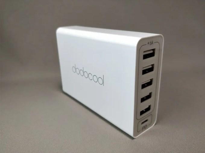 dodocool 60W 6ポート USB急速充電器 左2