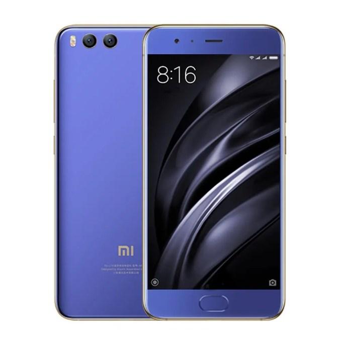 tomtop Xiaomi Mi6 Snapdragon 835 MSM8998 2.35GHz 8コア BLUE(ブルー)