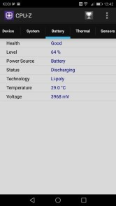 Huawei P10 Lite UQ mobile 貸出機 CPU-Z 2