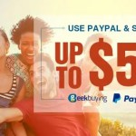 【GeekBuying】Paypal決済で最大50ドルOffのクーポン