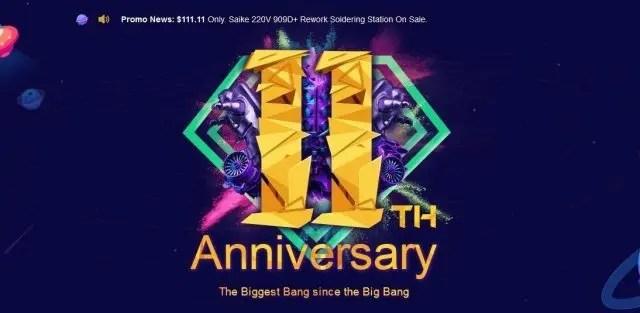 Banggood 11 Anniversary