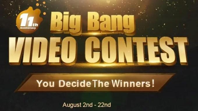 Big Bang VIDEO CONTEST