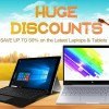 【GeekBuying】中華タブレット・ラップトップ秋の大幅値引き最大50%Offセール