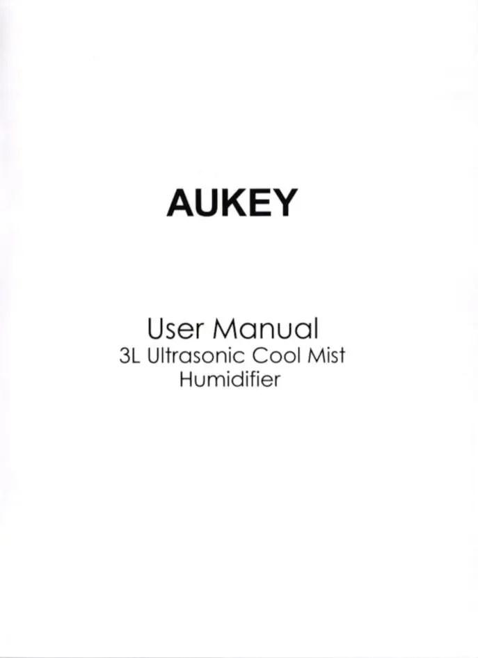 Aukey ミスト加湿器 1