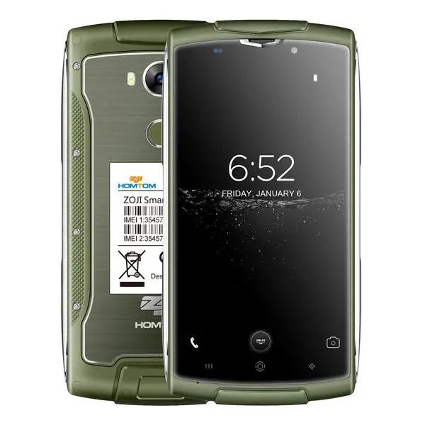 banggood HOMTOM ZOJI Z7 MTK6737 1.5GHz 4コア GREEN(グリーン)