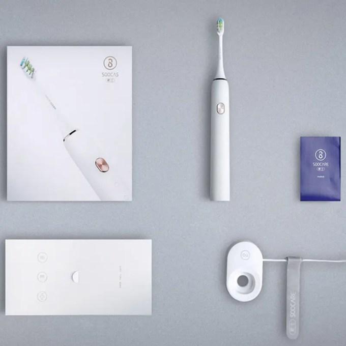 Xiaomi Soocas X3 電動歯ブラシ 商品画像 セット