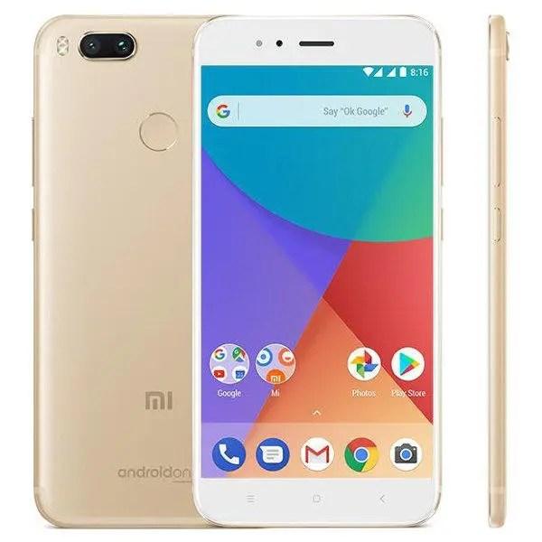 banggood Xiaomi Mi A1 Snapdragon 625 MSM8953 2.0GHz 8コア GOLD(ゴールド)