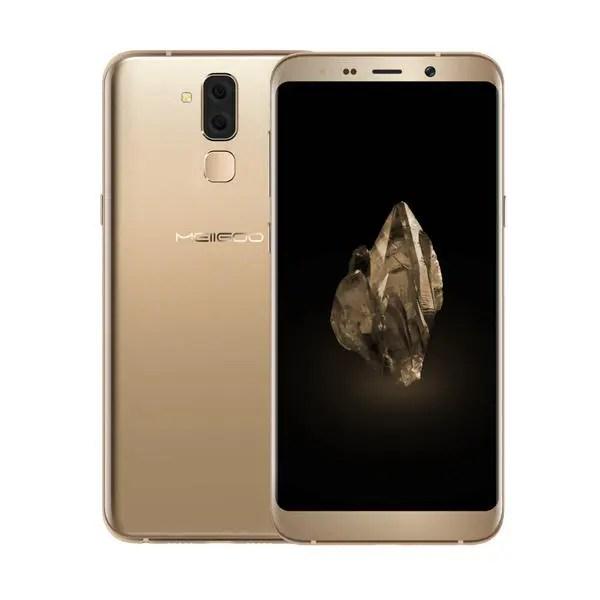 banggood Meiigoo S8 MTK6750T 1.5GHz 8コア GOLD(ゴールド)