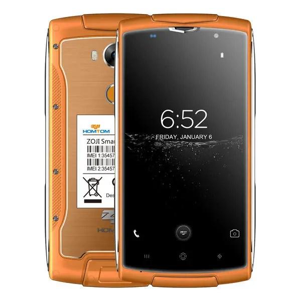 banggood HOMTOM ZOJI Z7 MTK6737 1.5GHz 4コア ORANGE(オレンジ)
