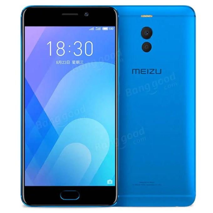 banggood Meizu M6 Note Snapdragon 625 MSM8953 2.0GHz 8コア BLUE(ブルー)