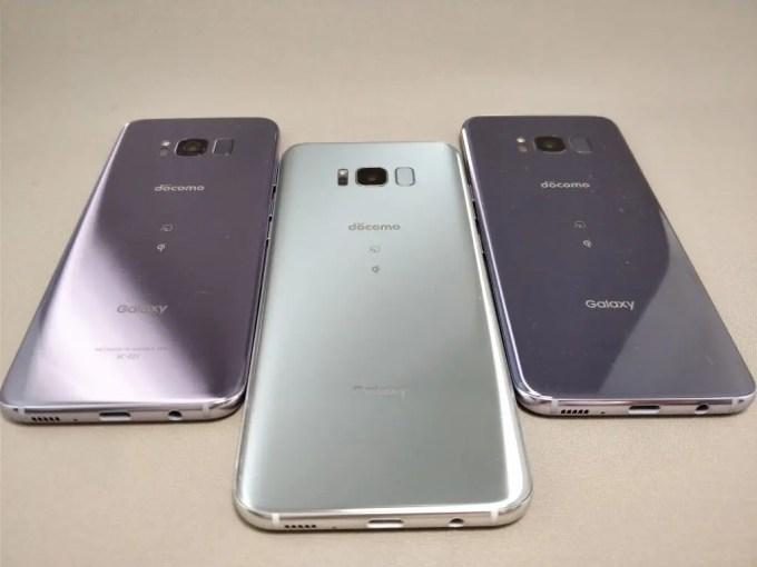 Galaxy S8 VS Galaxy S8+ サイズ比較3