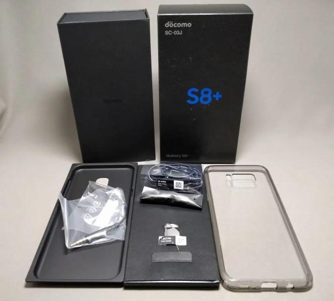 Galaxy S8+ 化粧箱
