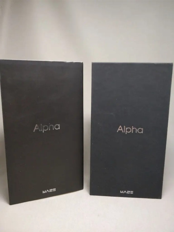 Maze Alpha 化粧箱