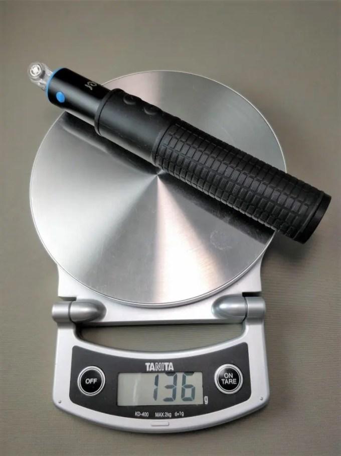 Andoer 自撮り棒 重量