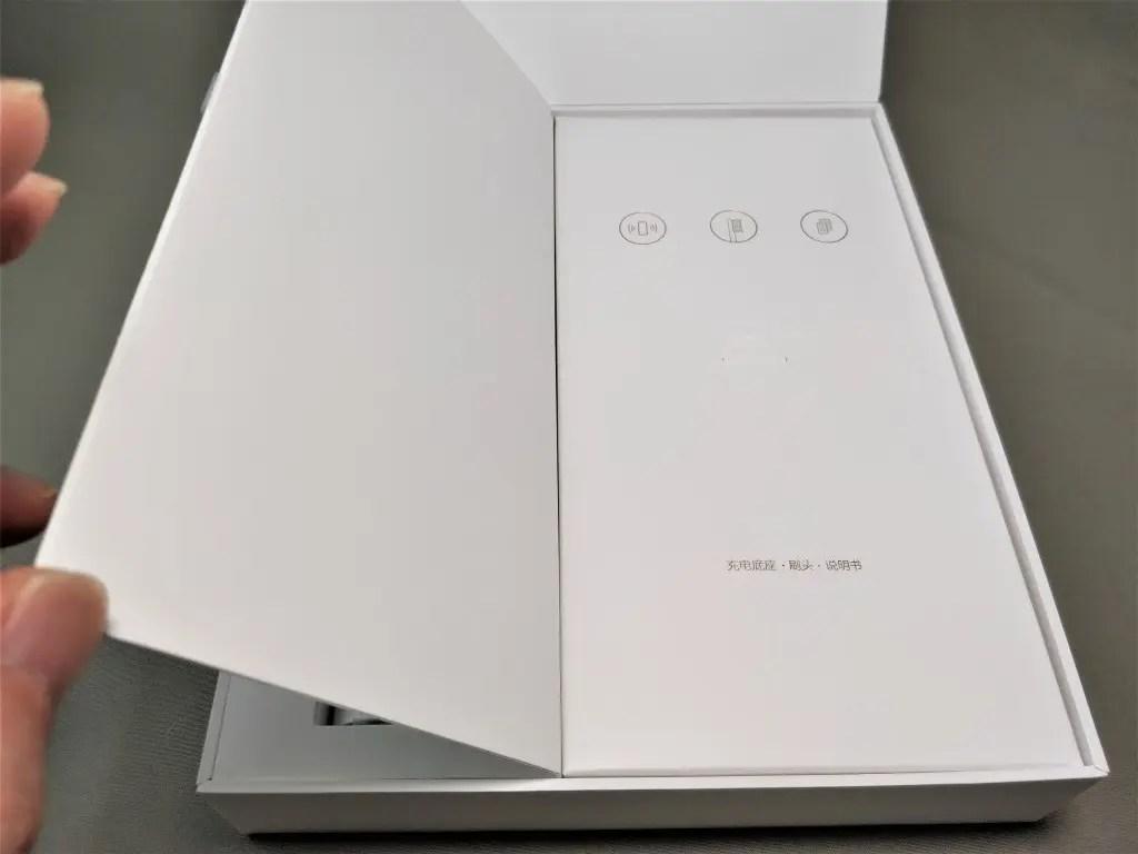 Xiaomi Soocas X3 電動歯ブラシ 化粧箱 開ける 付属