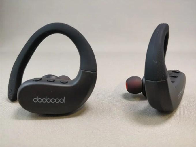 dodocool 完全独立IPX5スポーツイヤホン横