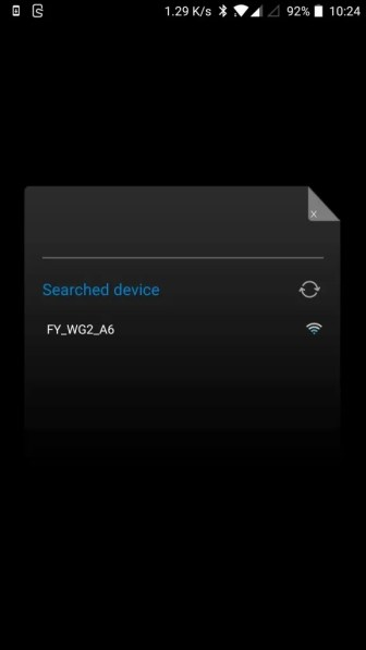 FeiyuTech WG2 Bluetooth接続