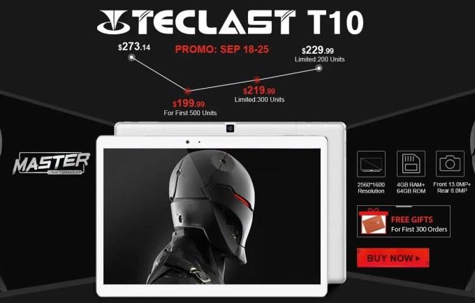 Teclast T10 フラッシュセール