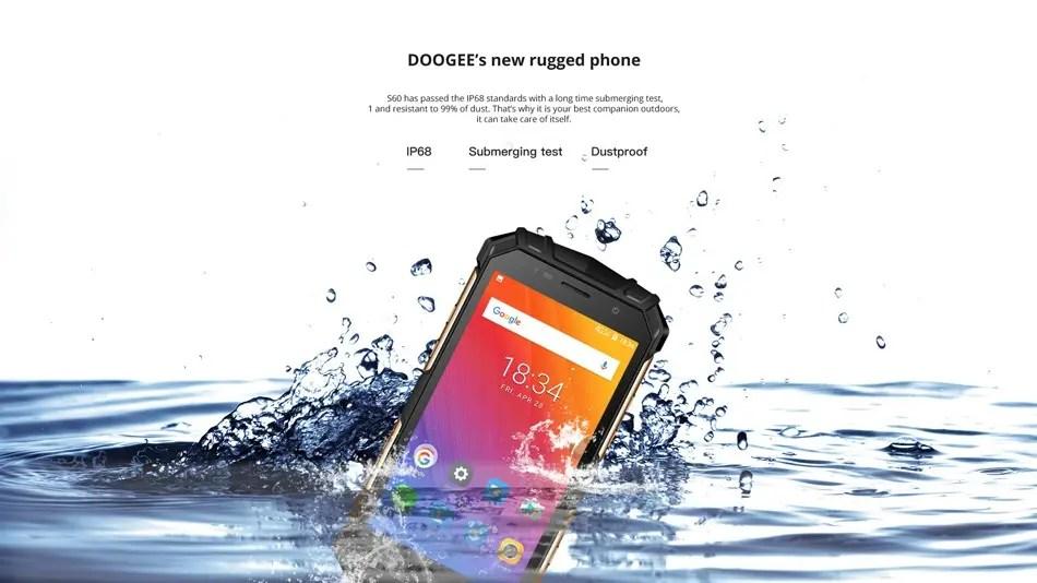 DOOGEE S60 画像9